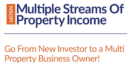 Multiple Stream of Property Income - 3 Day Workshop