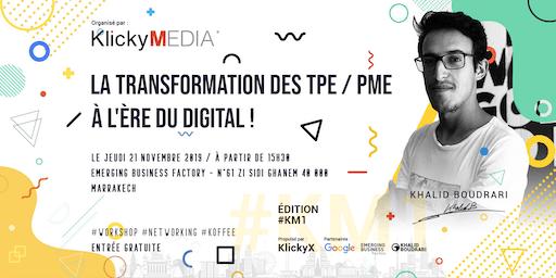 La transformation des TPE / PME  à l'ère du Digital