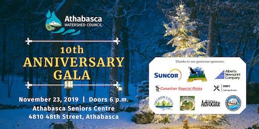 Athabasca Watershed Council 10th Anniversary Gala
