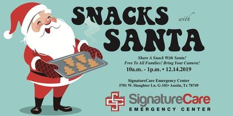 3rd Annual Snacks with Santa tickets