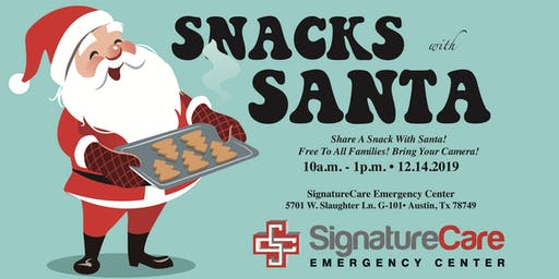 3rd Annual Snacks with Santa