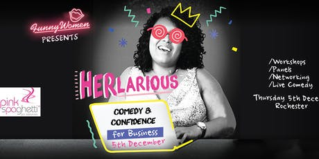 HERlarious - Comedy and Confidence for Women in Business tickets