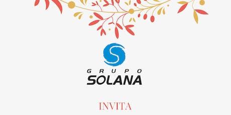 Cena de Fin de Año Grupo Solana entradas