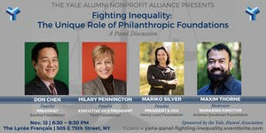YANA Panel | Fighting Inequality: The Unique Role of...