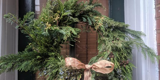 Wreath Workshop with Alice Blue Collective Fresh Holiday Greens Edition