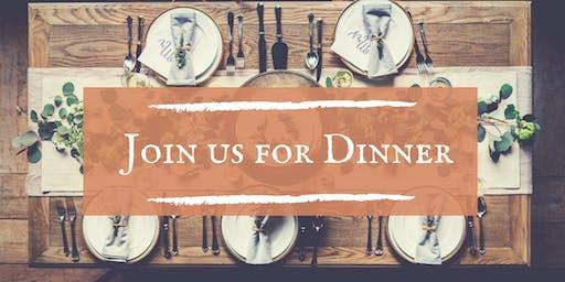 Join us for Dinner!