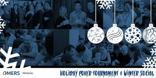 OMERS Ventures Charity Poker Tournament & Winter Social