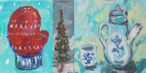 Paint Your Favorite Part of the Holiday Season with the Bismarck RISE Tribe