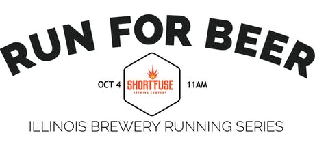 Beer Run - Short Fuse Brewing | Part of the 2020 IL Brewery Running Series tickets
