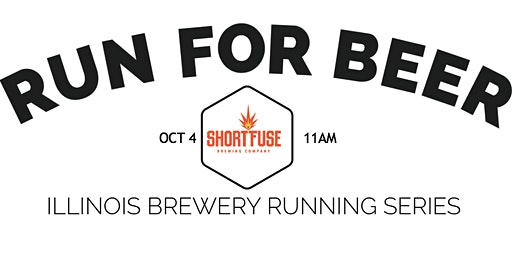 Beer Run - Short Fuse Brewing | Part of the 2020 IL Brewery Running Series