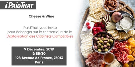 Cheese & Wine Experts-Comptables billets