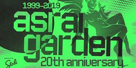 Asrai Garden 20th Anniversary Celebration tickets