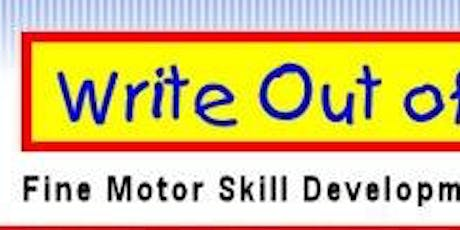 Write Out of the Box Fine Motor Workshop: hosted by The Acorn tickets