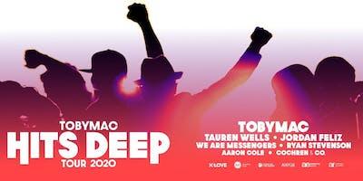 TobyMac - Hits Deep Tour MERCHANDISE VOLUNTEER- Reno, NV