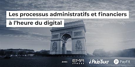 Les processus administratifs et financiers à l'heure du digital billets