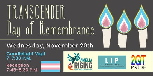 Transgender Day of Remembrance-North Bay