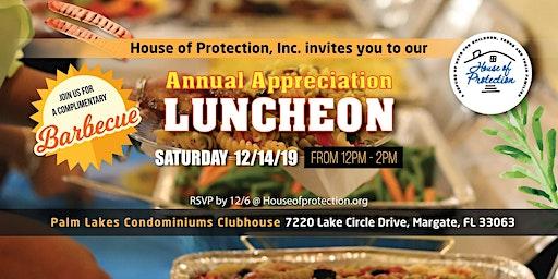 Annual Appreciation Luncheon