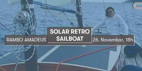 Solar Retro Sailboat | Agile ship building at the service of the CE tickets