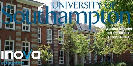 Estudia tu PhD en la Universidad de Southampton - sesión en línea boletos