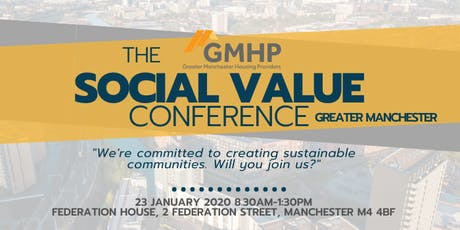 GMHP Social Value Conference tickets