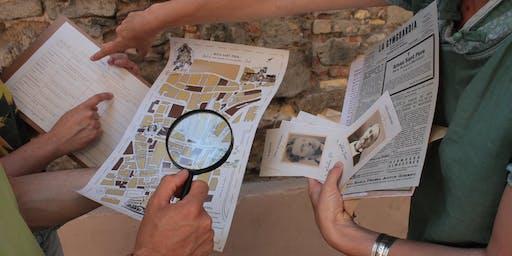 Crimen en Sant Pere, Gymkhana de misterio por el Born