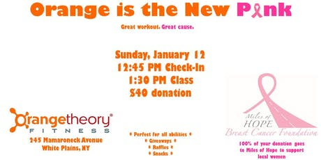 Orange is the New Pink: A Fundraiser for Miles of Hope tickets