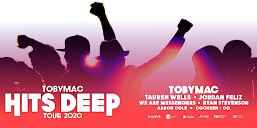 TobyMac - Hits Deep Tour MERCHANDISE VOLUNTEER- Salt Lake City, UT (By Synergy Tour Logistics)