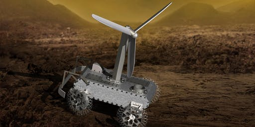 Exploring the Surface of Venus with a Clockwork Rover, by Evan Hilgemann