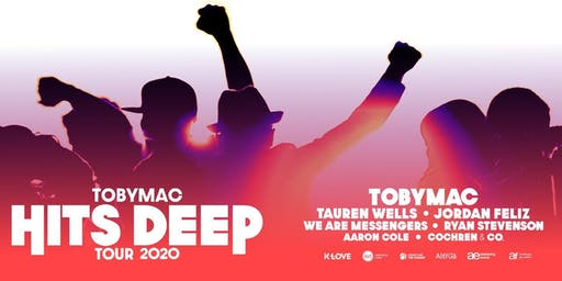 TobyMac - Hits Deep Tour MERCHANDISE VOLUNTEER- Kent, WA