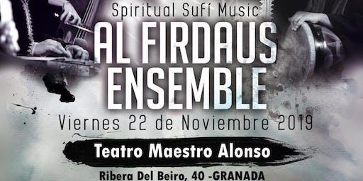 Al FIRDAUS ENSEMBLE- Celebración del Mawlid ( concierto benéfico)