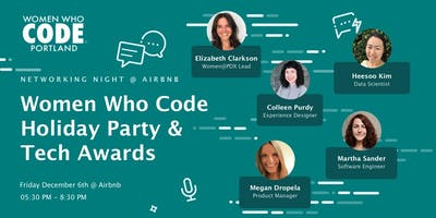 Women Who Code Holiday Party @ Airbnb
