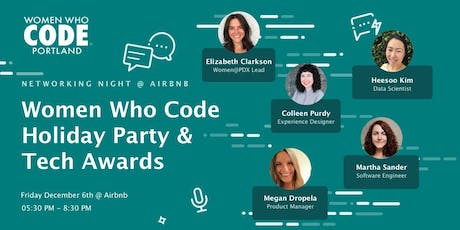 Women Who Code Holiday Party @ Airbnb tickets