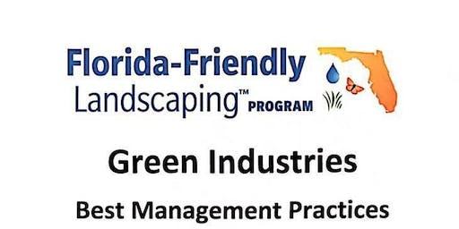 GREEN INDUSTRIES BEST MANAGEMENT PRACTICES (GI-BMP)