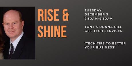 Rise & Shine Business Alliance Breakfast tickets
