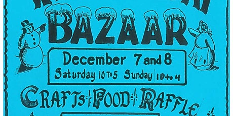 Winter Bazaar Local Craft Fair tickets