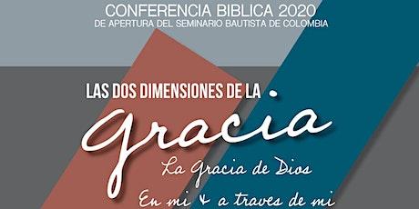Conferencia Bíblica 2020 entradas