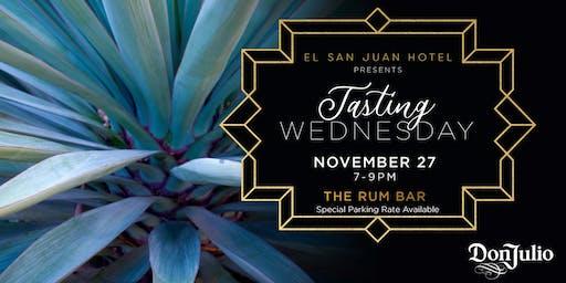 Tequila Don Julio, Tasting Wednesdays at El San Juan Hotel