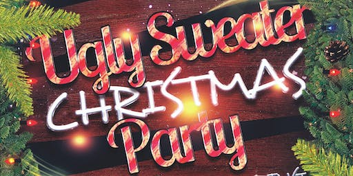Women Invigorate Ugly Christmas Sweater Party