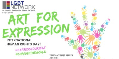 Art for Expression: Human Rights Day for Youth and Young Adults