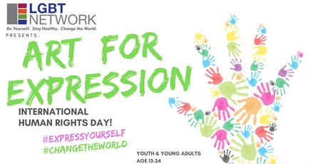 Art for Expression: Human Rights Day for Youth and Young Adults tickets