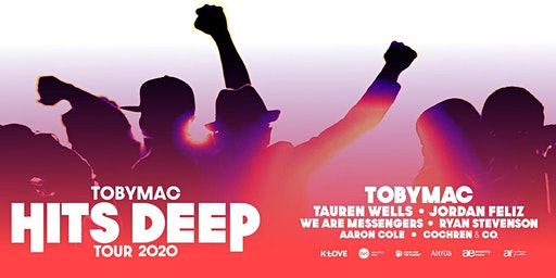 TobyMac - Hits Deep Tour MERCHANDISE VOLUNTEER- Milwaukee, WI (By Synergy Tour Logistics)