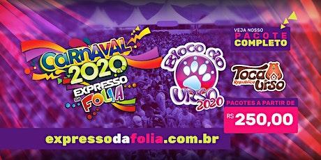 Carnaval Bloco do urso 2020 - Expresso da Folia ingressos