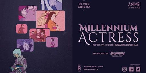 Anime! at the Revue: Satoshi Kon's MILLENNIUM ACTRESS (2001)