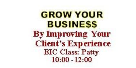 Grow Your Business by Improving Your Client's Experience tickets