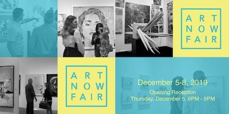 Art Now Fair tickets