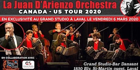 La Juan D'Arienzo Orchestra tickets