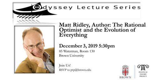 Odyssey Lecture with Matt