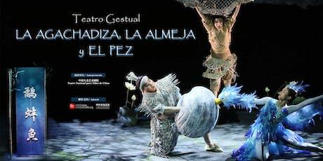 Teatro infantil: La Agachadiza, la Almeja y el Pez entradas