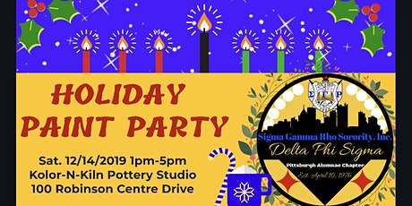 Holiday Paint Party tickets