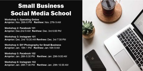 Social Media School: DIY Photography for Small Business tickets